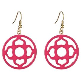 Magnolia Earrings in Pink