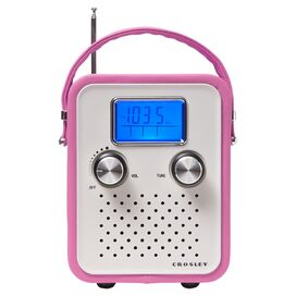 Crosley Songbird Radio in Pink