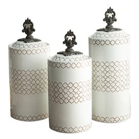 3-Piece Rhone Canister Set