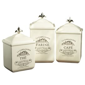 3-Piece Maison Canister Set