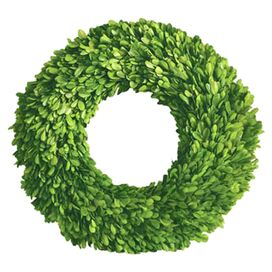 Preserved Boxwood Round Wreath