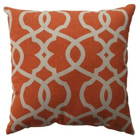 Nora Pillow in Tangerine