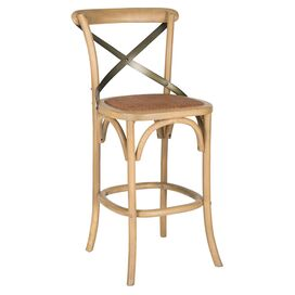 Sabra Barstool in Weathered Oak