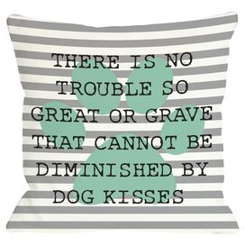 Dog Kisses Pillow