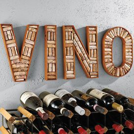4-Piece Vino Cork Board Frame