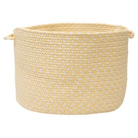 Carousel Indoor/Outdoor Utility Basket in Sun Squeeze