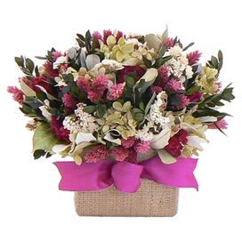 Preserved Mixed Floral Arrangement