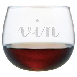 Vin Stemless Wine Glass