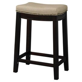 Allure Stool in Beige