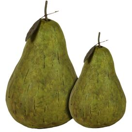 2-Piece Pear Decor Set