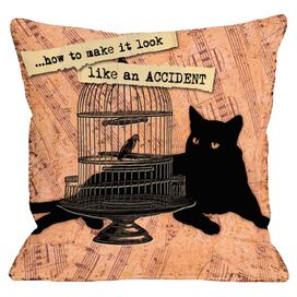 Devious Cat Pillow