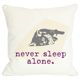 Never Sleep Alone Pillow