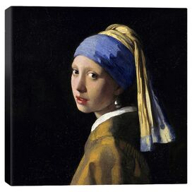 Girl with a Pearl Earring by Vermeer Canvas Print