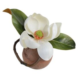 New Growth Designs Faux Magnolia Blossom
