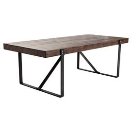 Ronan Dining Table in Dark Brown