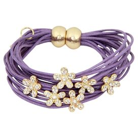Flora Bracelet in Purple
