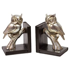 Perched Owl Bookend