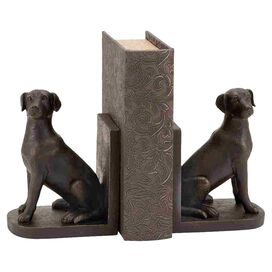 Sitting Labrador Bookend