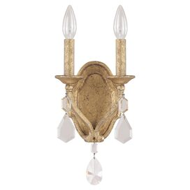 Blakely 2-Light Crystal Wall Sconce