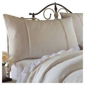 Hampton Standard Sham in Cream