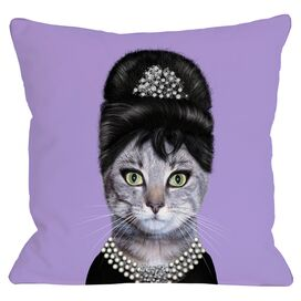 Kitty Breakfast Pillow