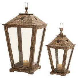 2-Piece Napa Candle Lantern Set