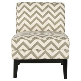 Deborah Accent Chair in Grey