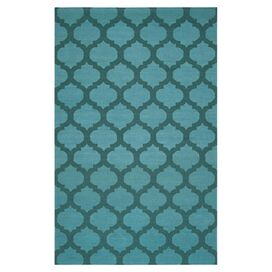Casablanca Rug in Sea Blue
