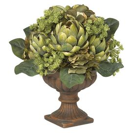Faux Artichoke Arrangement
