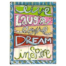 Laugh Love Dream Wall Decor