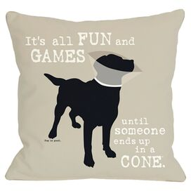 Fun & Games Pillow
