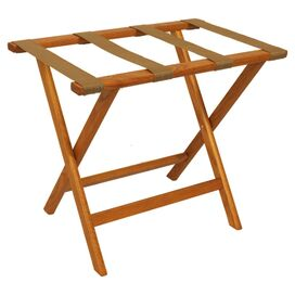 Argo Luggage Rack in Medium Oak