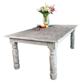 Jolie Dining Table in Gray