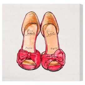 Paris Pumps Canvas Print