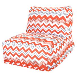 Michelle Indoor/Outdoor Lounger in Orange