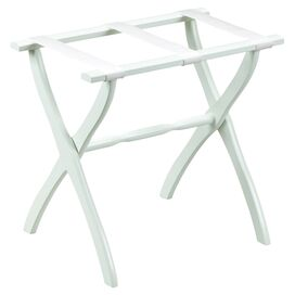 Marden Luggage Rack in White