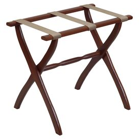 Marden Luggage Rack in Dark Walnut