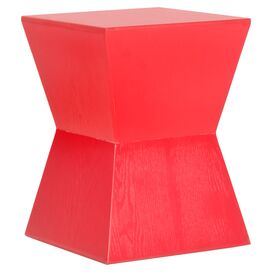 Jayce End Table in Hot Red