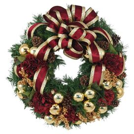 Gloria Wreath in Gold