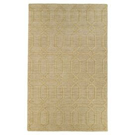 Danforth Rug in Yellow