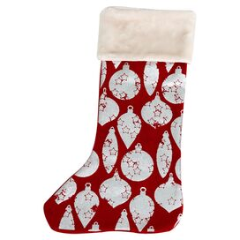 Starry Ornaments Stocking
