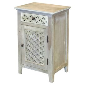Landon Cabinet in Weathered Grey