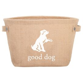 Harry Barker Good Dog Toy Storage Bag in White