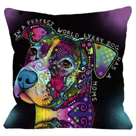 In a Perfect World Pillow