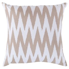 Ibani Pillow in Safari Tan and White