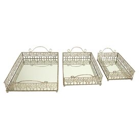3-Piece Catherine Tray Set