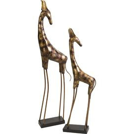2-Piece Nimba Giraffe Decor Set