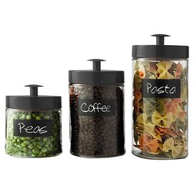 3-Piece Burnham Canister Set