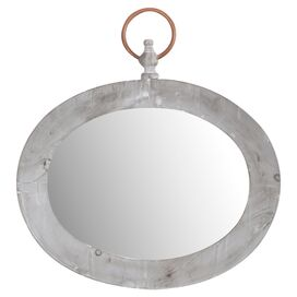 Ramona Wall Mirror in Gray