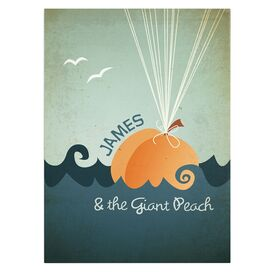 James & the Giant Peach Canvas Print